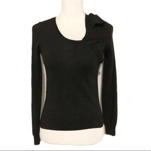 Ann Taylor Merino Wool Sweater With Bow